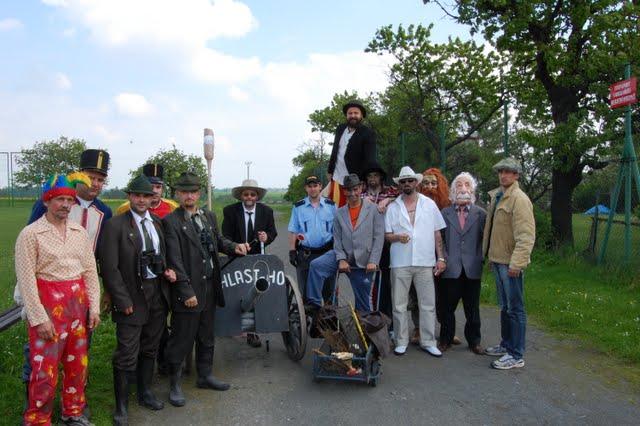 Kácení máje ve Slatině 2010